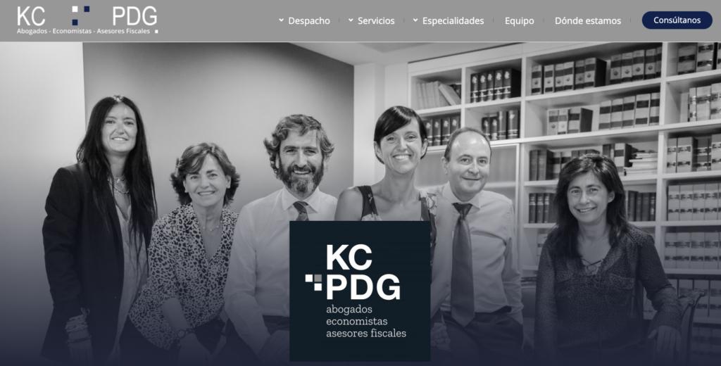 especialistas en la creación de páginas web para bufetes de abogados