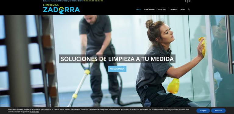 Empresas especialistas diseño páginas web empresas de limpieza