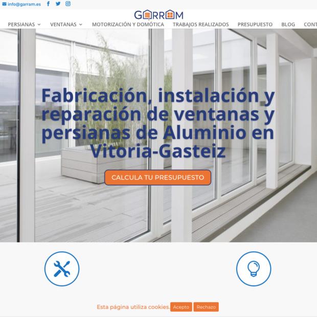 Empresas especialistas diseño web seo posicionamiento empresas de persianas y ventanas