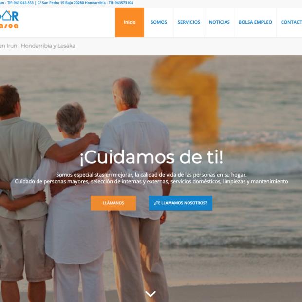 Empresas especialistas diseños web empresas asistencia domiciliaria
