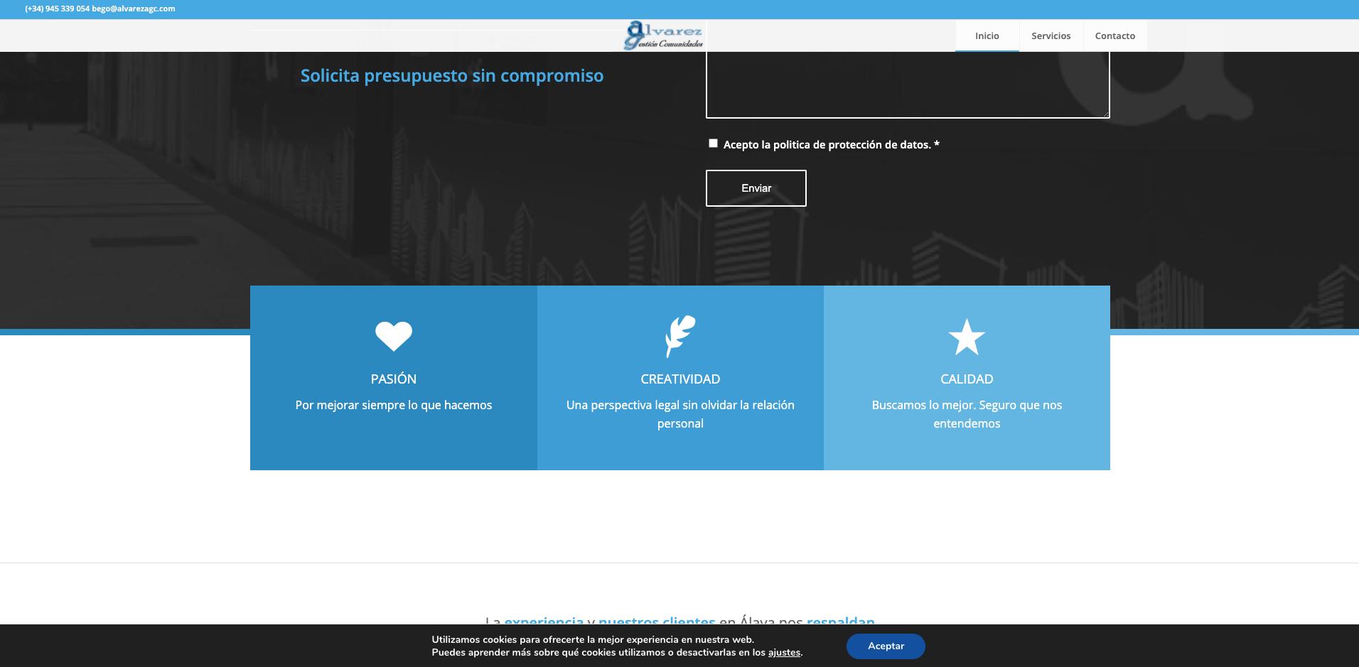 empresas especialistas paginas web posicionamiento seo comunidades de fincas gestion